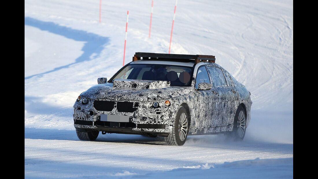 Erlkönig BMW 7er Sec o X12