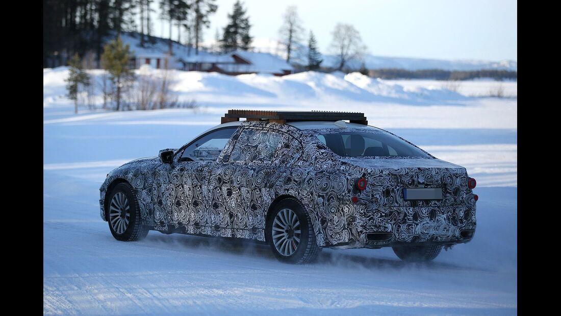 Erlkönig BMW 7er Sec o X16