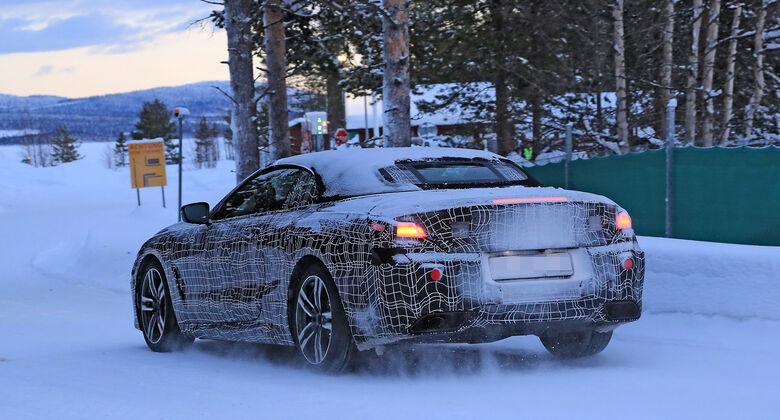 Erlkönig BMW 8er Cabrio