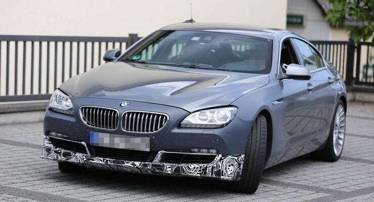 Erlkönig BMW Alpina B6 Gran Coupé