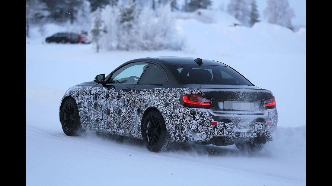 Erlkönig BMW M2 Coupé