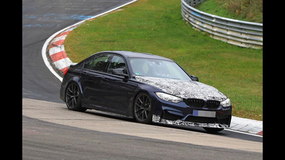 Erlkönig BMW M3 CS