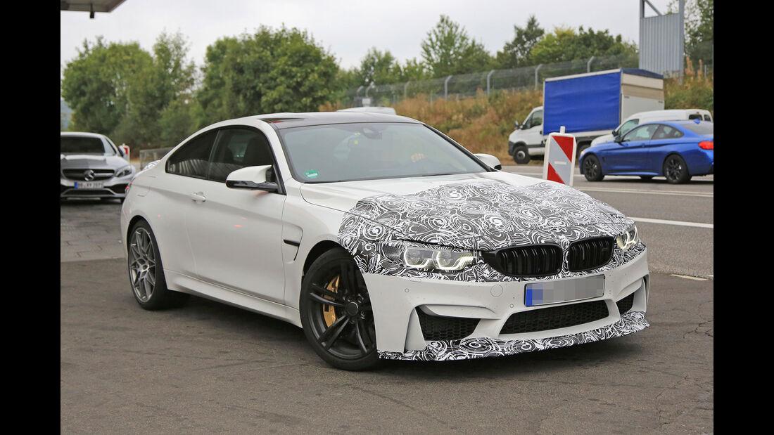 Erlkönig BMW M4 Coupe