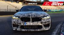 Erlkönig BMW M5 CS Hockenheim