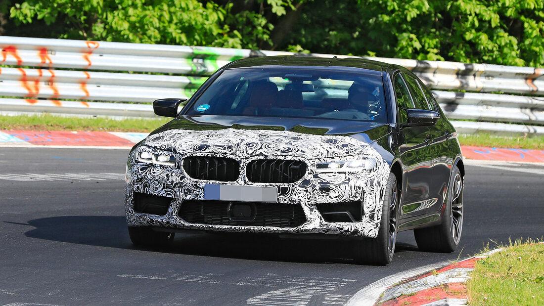 Erlkönig BMW M5 Facelift
