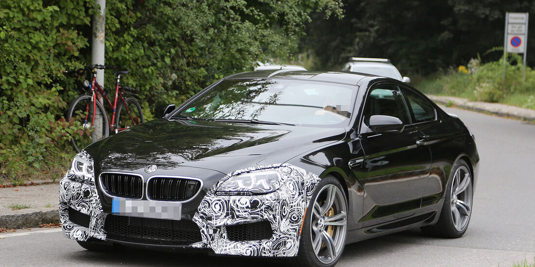 Erlkönig BMW M6 Coupe Facelift