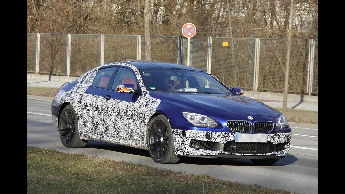 Erlkönig BMW M6 Gran Coupé