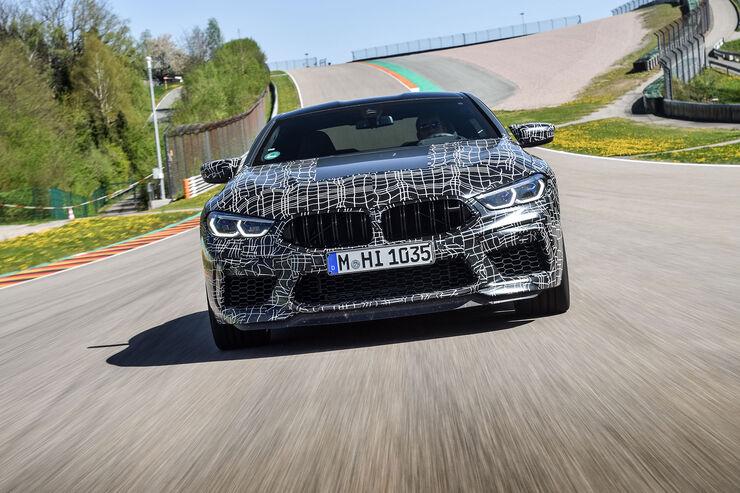 Erlkönig BMW M8 Coupé