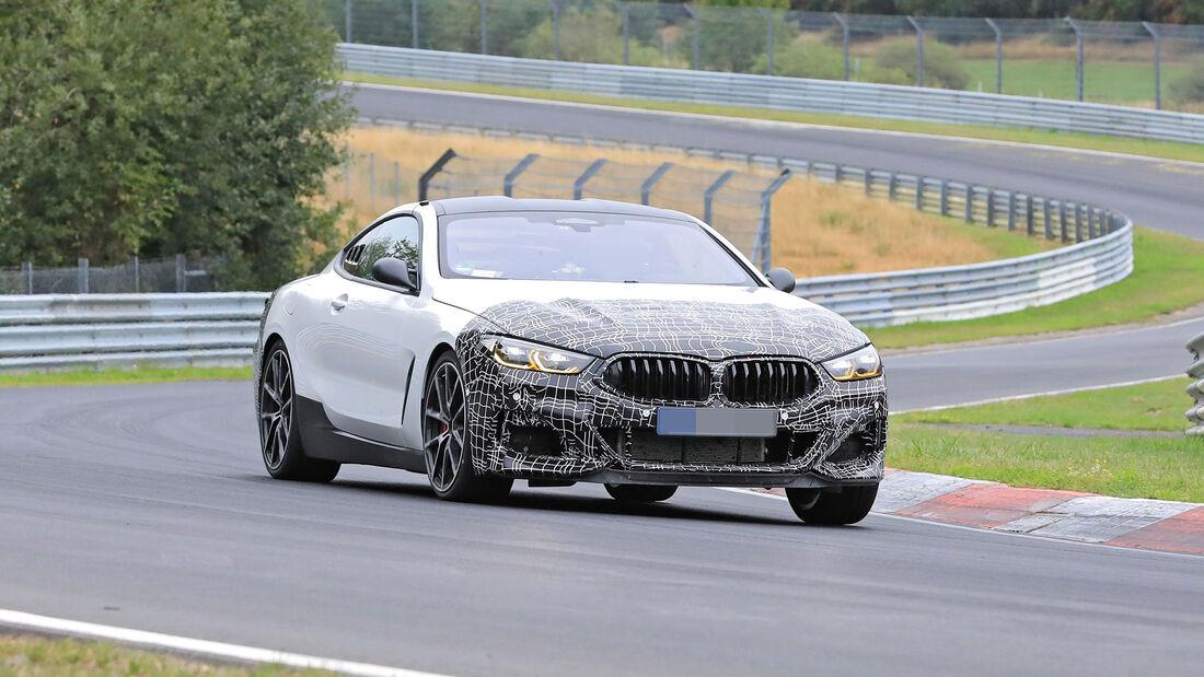 Erlkönig BMW Mittelmotor-Prototyp