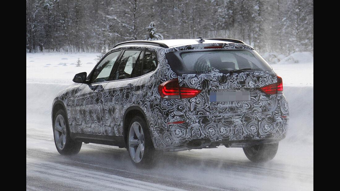 Erlkönig BMW X1 Facelift