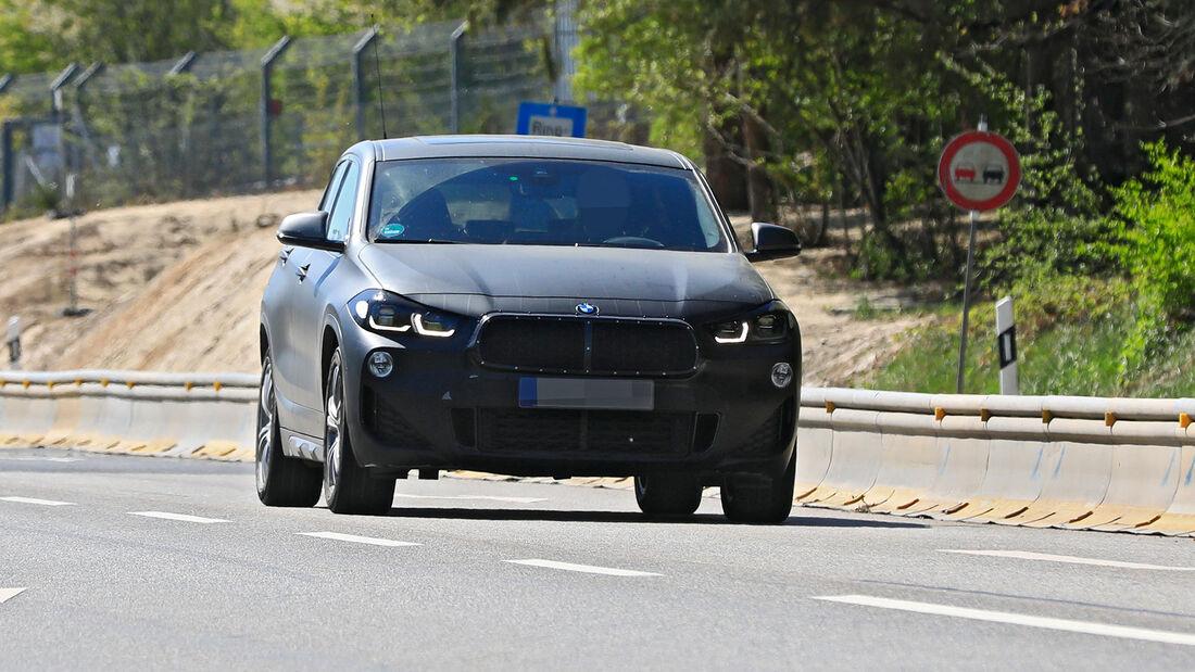 Erlkönig BMW X2