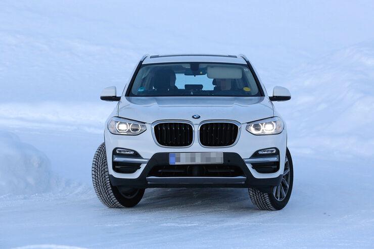 Erlkönig BMW X3 Elektro