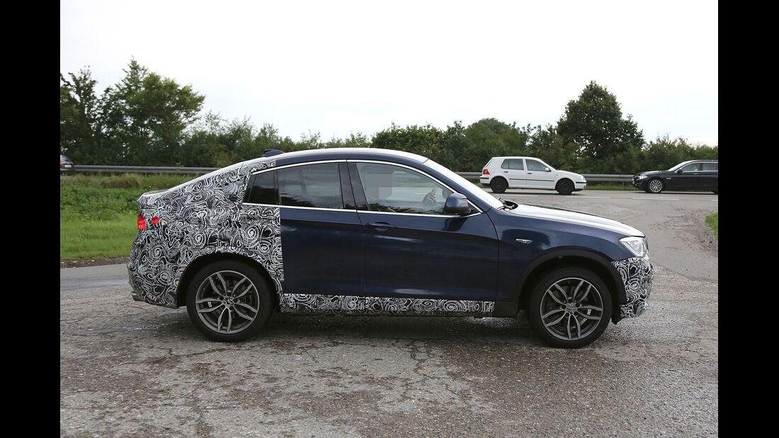 Erlkönig BMW X4 M40i