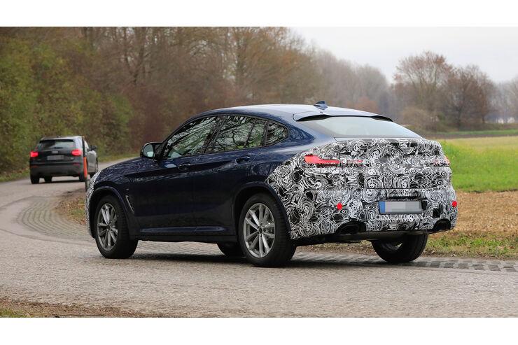 BMW X4 Erlkönig: Facelift für das SUV-Coupé - auto motor und sport