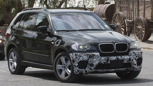 Erlkönig BMW X5 Facelift