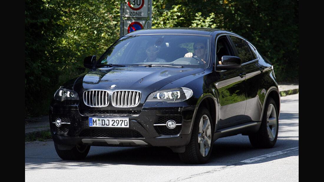 Erlkönig BMW X6 Facelift
