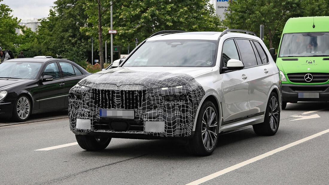 Erlkönig BMW X7