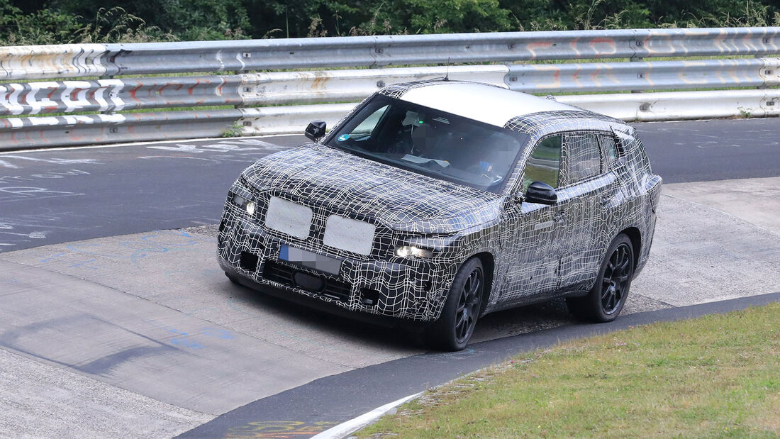 Erlkönig BMW X8 M