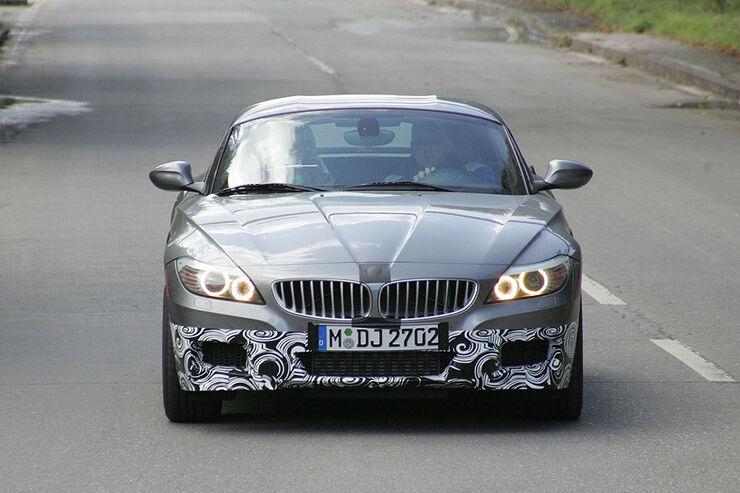 Erlkönig BMW Z4 M-Paket