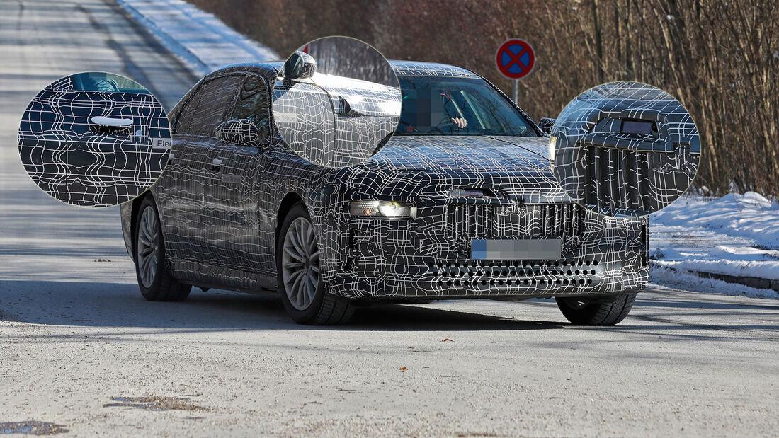 Erlkönig BMW i7