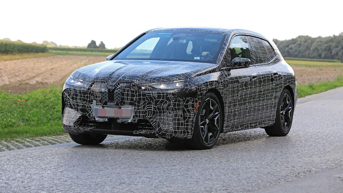 Erlkönig BMW iNext