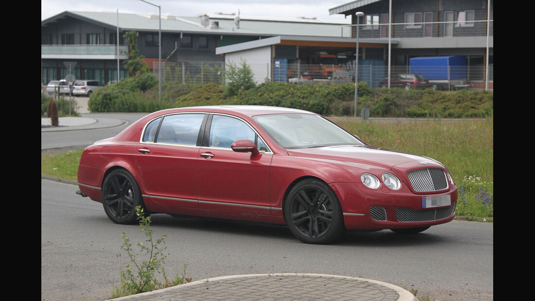 Erlkönig Bentley Continental Flying Spur V8