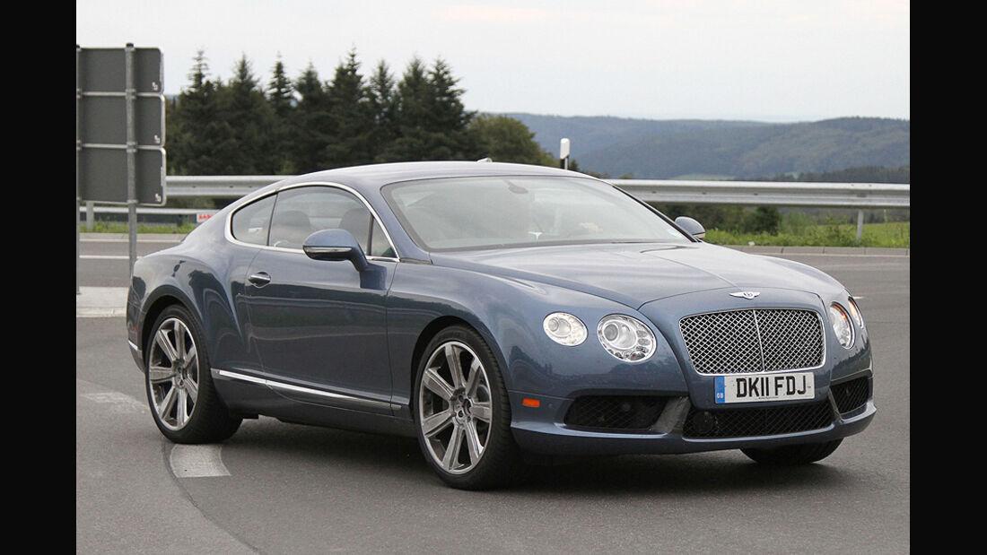 Erlkönig Bentley Continental GT Speed