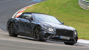 Erlkönig Bentley Continental GTC