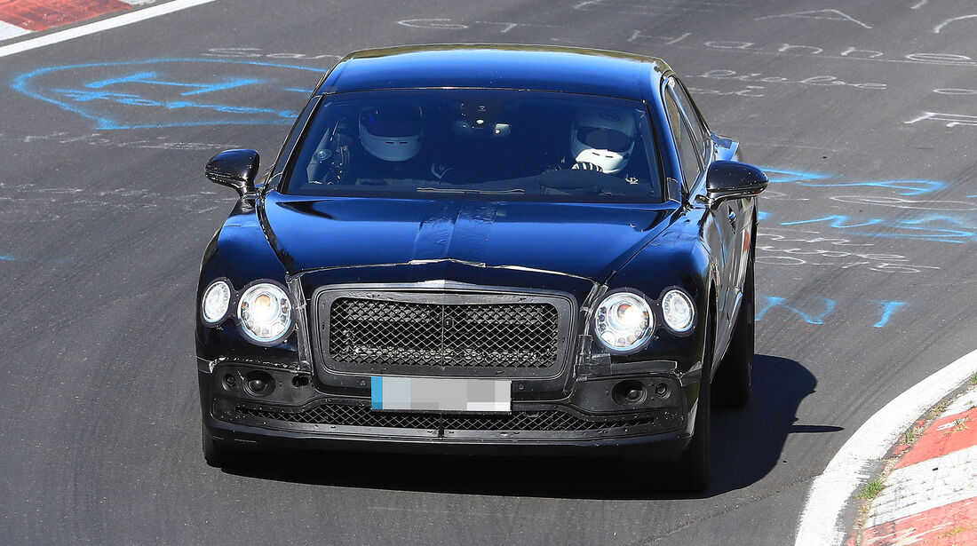 Erlkönig Bentley Flying Spur