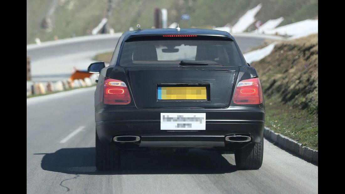 Erlkönig Bentley SUV