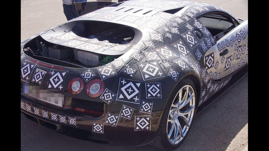 Erlkönig Bugatti
