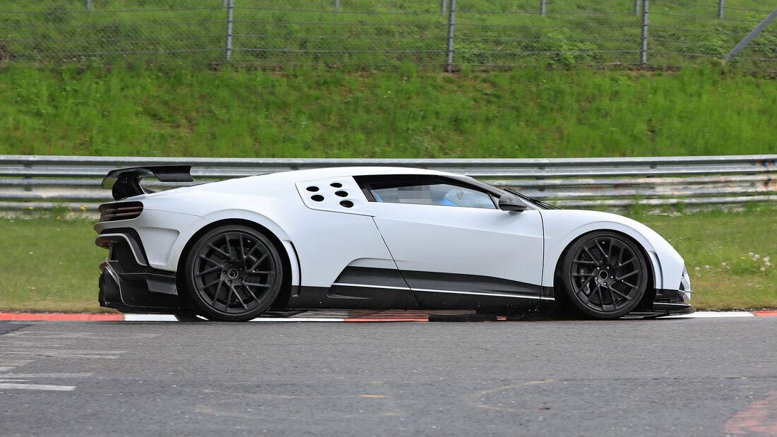 Erlkönig  Bugatti Centodieci