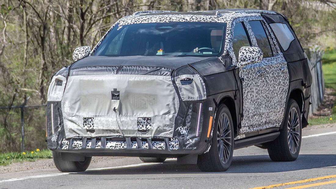 Erlkönig Cadillac Escalade V