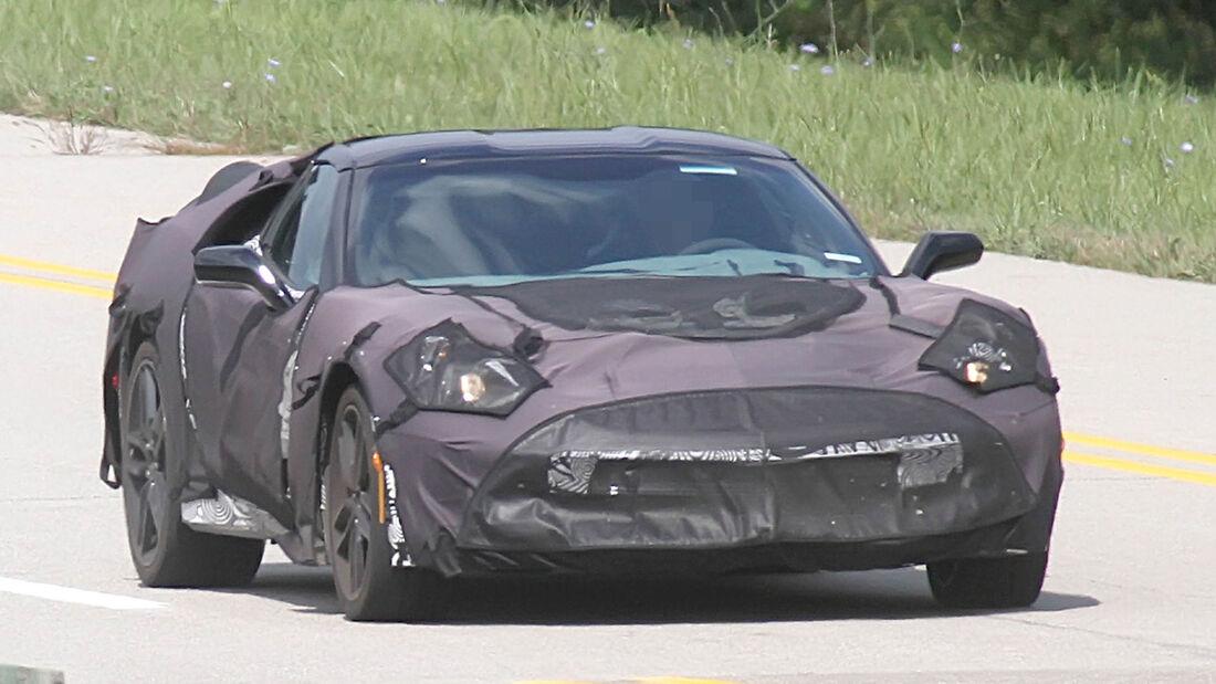 Erlkönig Chevrolet Corvette C7