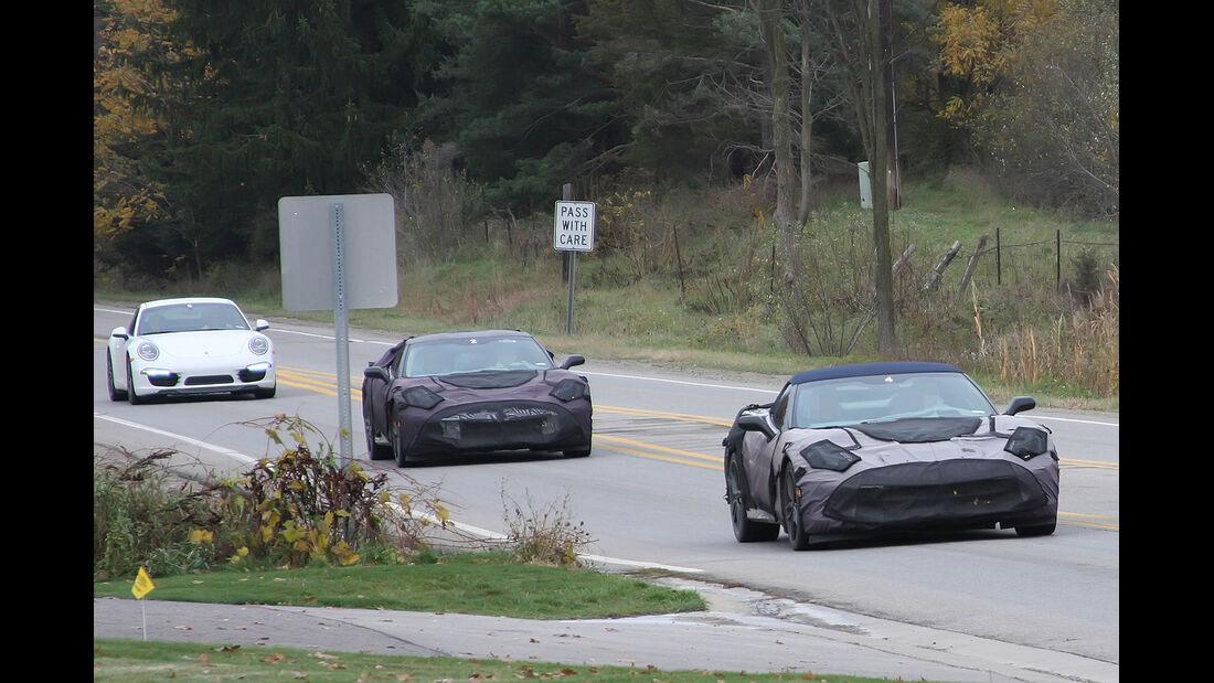 Erlkönig Chevrolet Corvette C7 Cabrio