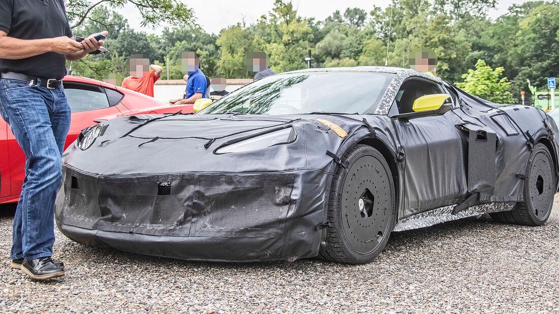 Erlkönig Chevrolet Corvette E-Ray