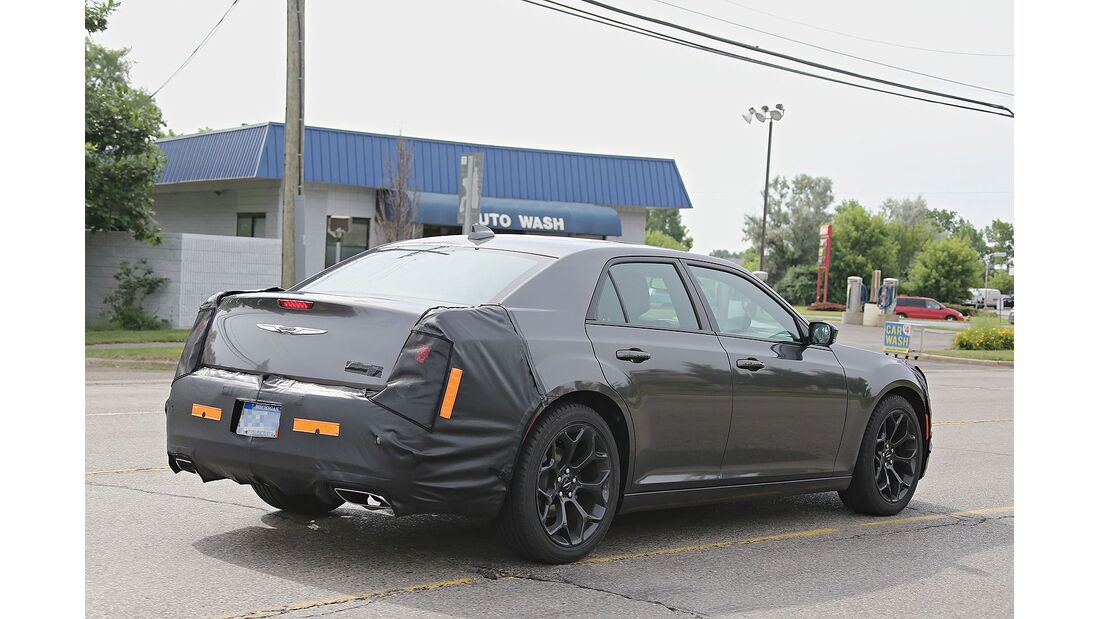 Erlkönig Chrysler 300C