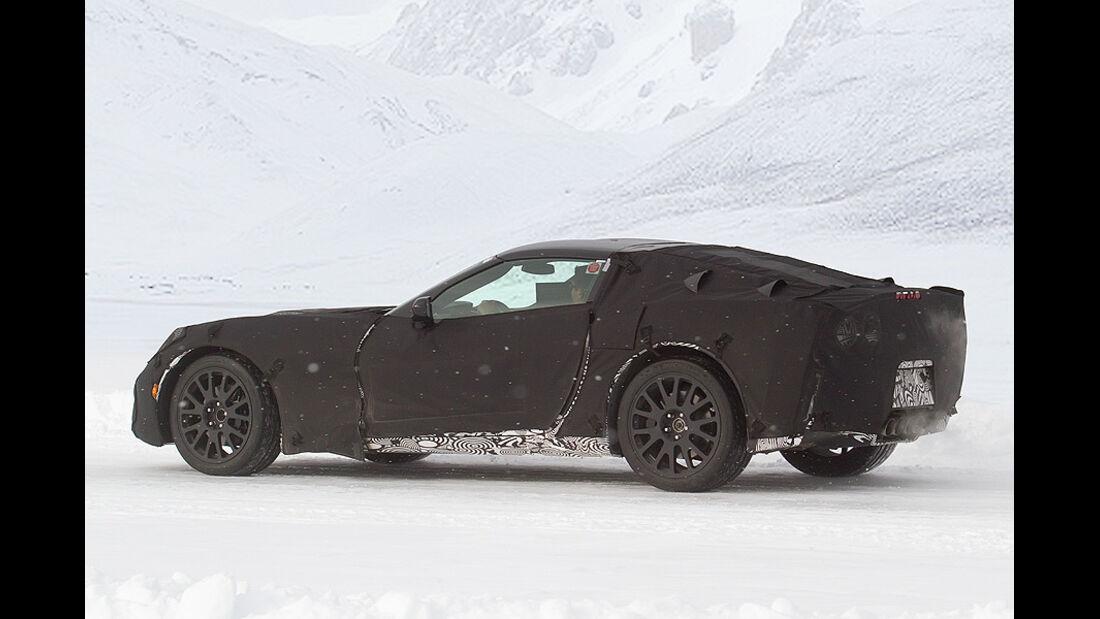 Erlkönig Corvette C7