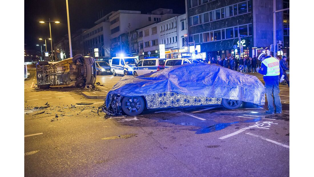 Erlkönig-Crash Stuttgart