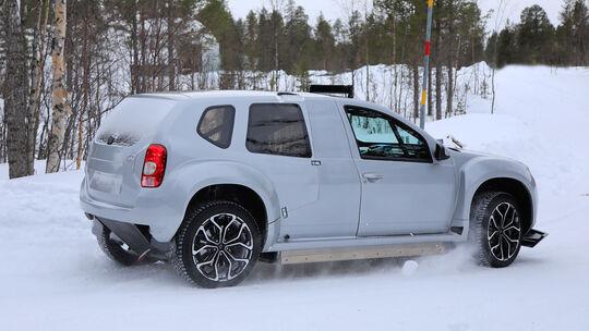 Erlkönig Dacia Duster Prototyp (Alpine SUV)