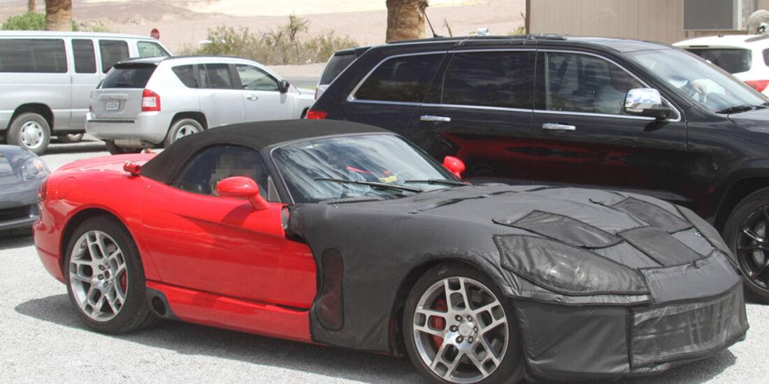 Erlkönig Dodge Viper Cabrio