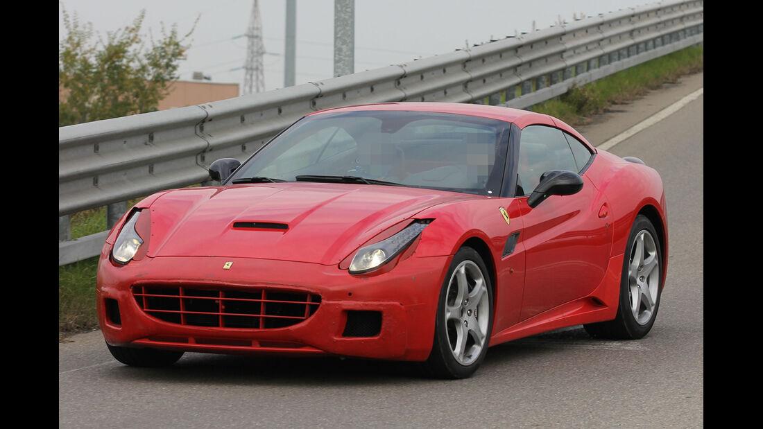 Erlkönig  Ferrari California Muletto