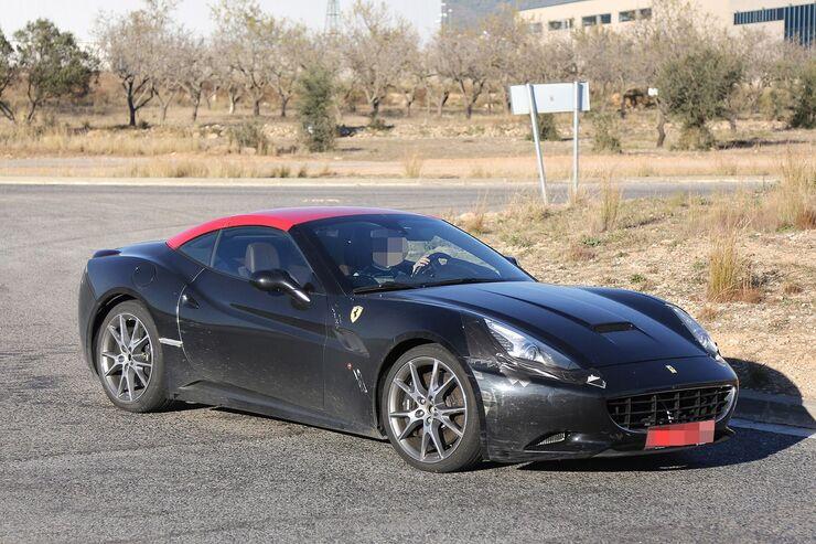Erlkönig Ferrari California