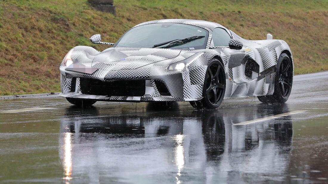 Erlkönig Ferrari LaFerrari Nachfolger