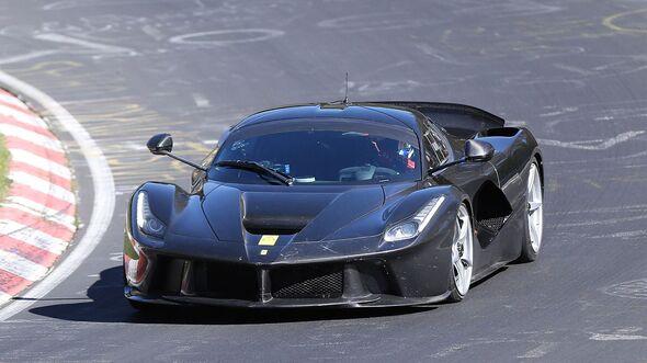 Erlkönig Ferrari LaFerrari XX