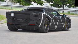 Erlkönig Ferrari V6