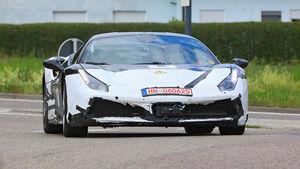 Erlkönig Ferrari V6 Hybrid Muletto