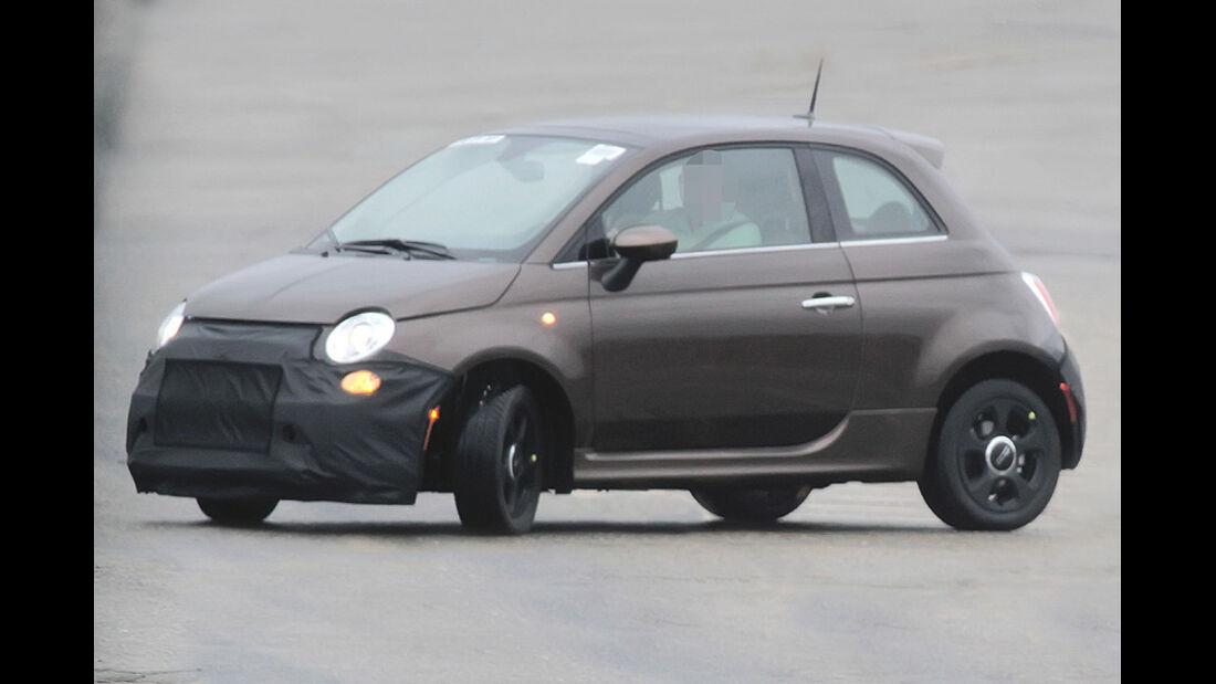 Erlkönig Fiat 500 EV