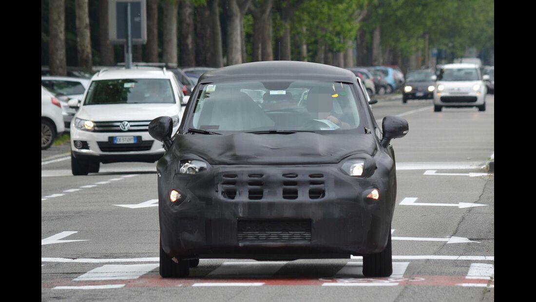 Erlkönig Fiat 500X