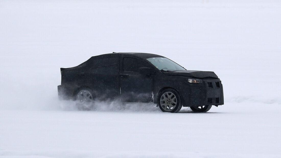 Erlkönig Fiat Argo SUV